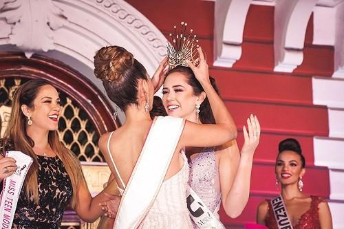 Joven trujillana se coronó como Miss Teen Model Internacional 2018