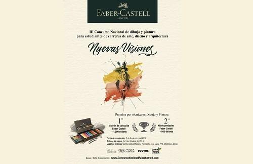 Faber-Castell convoca al III Concurso Nacional de dibujo y pintura 'Nuevas Visiones'