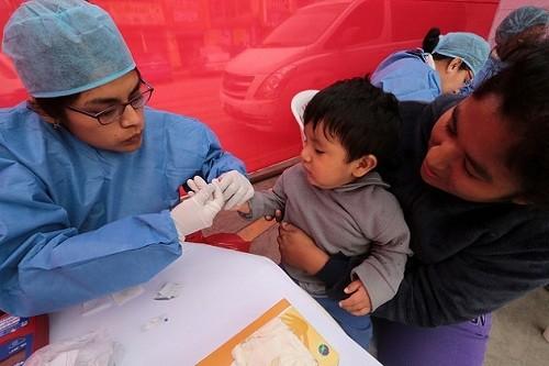 Niños serán tamizados cada seis meses para descartar anemia