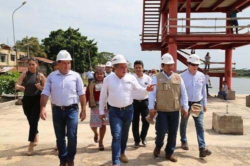 Desde hoy continúa construcción del Malecón de Yarinacocha
