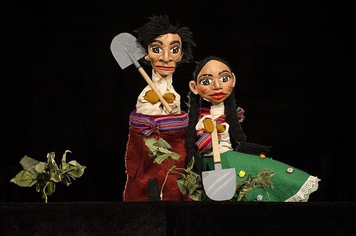 Tárbol teatro de Títeres presenta: Juancha y Mariacha