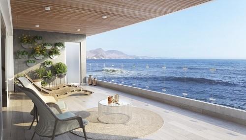 Se inició la construcción del primer y único condominio Premium en las playas del Sur Chico