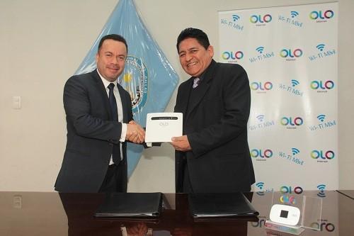 OLO brinda servicio gratuito de Internet en la Facultad de Ingeniería Eléctrica y Electrónica de la Universidad Nacional del Callao