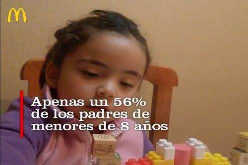 Un 56% de padres de menores de 8 años leen a sus hijos al menos una vez por semana