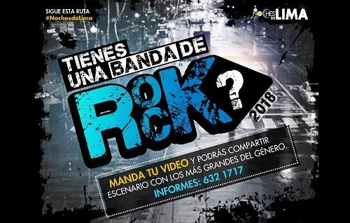 Municipalidad De Lima lanza convocatoria de Bandas De Rock para concierto en La Plaza San Martín