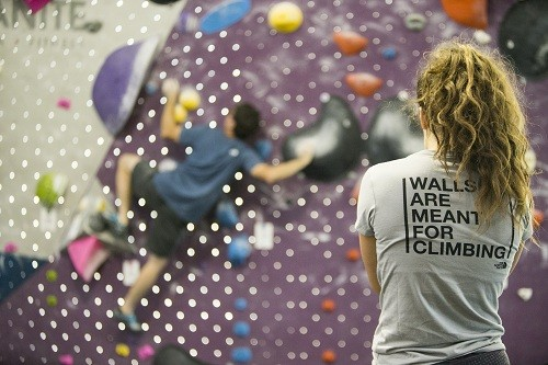 Las paredes fueron hechas para escalar