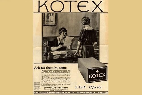100 años desde la aparición de las toallas higiénicas