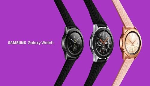 Manténgase conectado en cualquier lugar con el nuevo Samsung Galaxy Watch