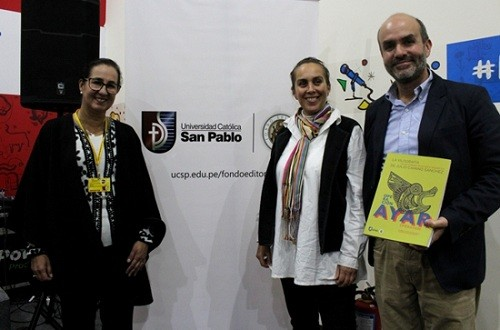"""Universidad Católica San Pablo presentó libro """"Operación Ayar. La xilografía de Julio Camino Sánchez"""""""