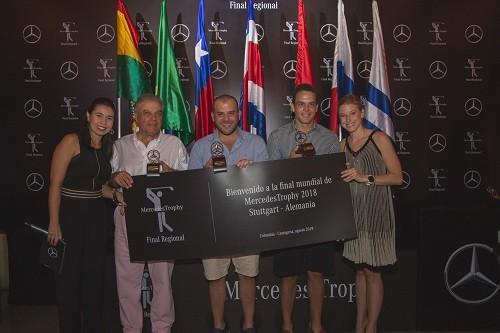 Equipo peruano destacó en la Final Regional del torneo de golf MercedesTrophy 2018