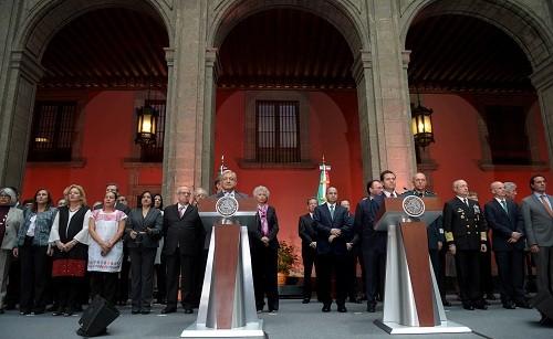 México: Se realizó la reunión para dar inicio formal al proceso de transición