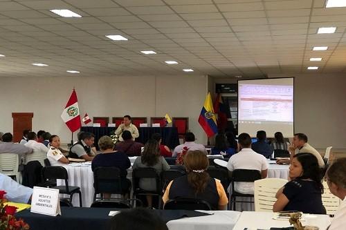 Perú y Ecuador fortalecen estrategia binacional frente a actividades ilegales en zonas colindantes a áreas protegidas