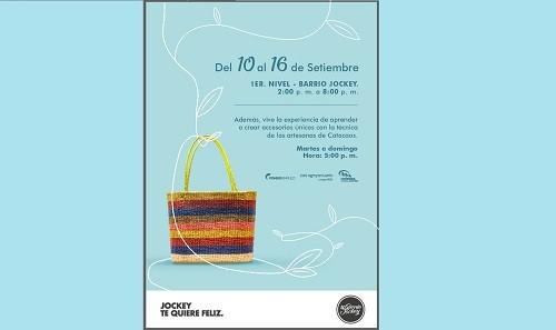 Jockey plaza te invita a la Feria de Primavera con las Artesanas de Catacaos-Piura