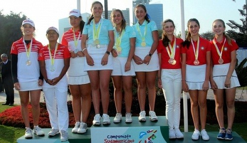Perú subcampeón del Sudamericano Pre Juvenil de Golf 2018