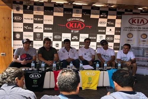 Amantes de las olas compitieron con estándares internacionales en el Circuito Nacional Kia de Surf en Huanchaco