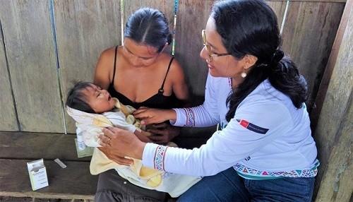 Brigadas de salud intercultural brindan 120 000 atenciones a las comunidades indígenas en región Loreto