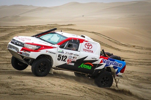Lucho Alayza listo para El Dakar Series
