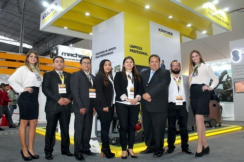 Kärcher presente en ExpoMina Perú 2018