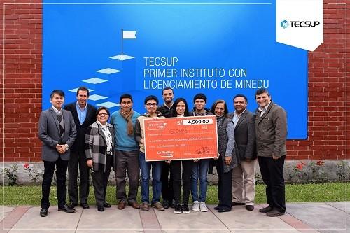 Alumnos de TECSUP logran el primer puesto en la III Hackathon Universitaria