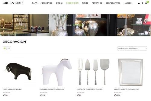 Argentaria lanza su plataforma e-commerce para llevar detalles y regalos a los hogares peruanos en el mundo
