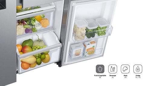 Conoce una nueva manera de organizar tu alimentación: Samsung presenta su nueva Refrigeradora 3-DOOR FLEX en Perú