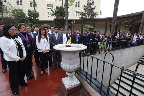 Nuevo Hospital Dos de Mayo para conmemorar el Bicentenario de la Independencia del Perú
