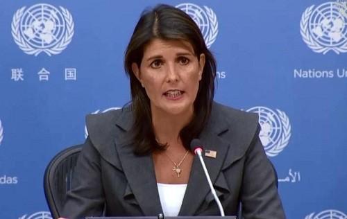 Nikki Haley renuncia como embajadora de Estados Unidos ante la ONU