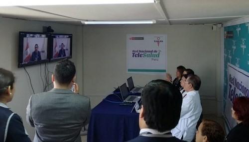 Alrededor de 1000 establecimientos de salud estarán interconectados a Red Nacional de Telesalud a fines de 2018