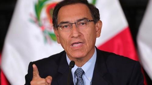 Presidente Martín Vizcarra descarta golpe de Estado