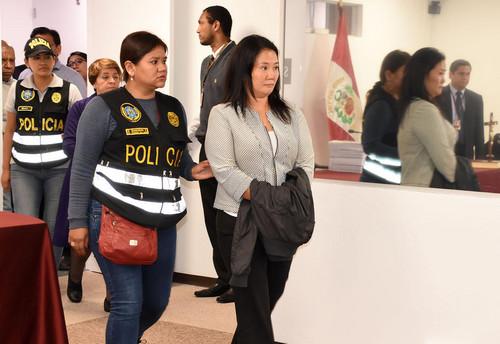 La detención preliminar de Keiko Fujimori en el caso de lavado de activos