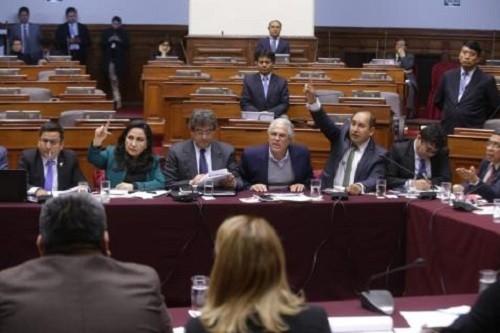 Comisión Permanente del Congreso aprobó archivamiento de la denuncia constitucional contra fiscal Pedro Chávarry