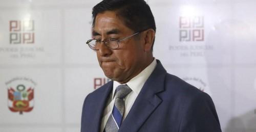 Acusación contra exvocal supremo César Hinostroza ya se encuentra en el Ministerio Público