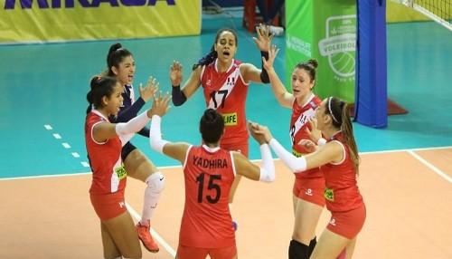 Sudamericano Femenino de Voleibol U20: Perú venció a Chile y es líder de la Serie A