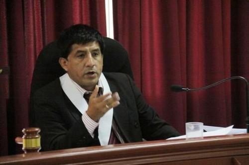 Juez Richard Concepción Carhuancho suspendió audiencia de prisión preventiva por falta de documentación