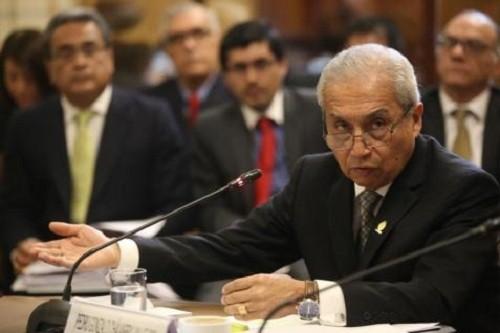 Fiscal Pedro Chávarry informa sobre acciones previas a la fuga de exmagistrado César Hinostroza