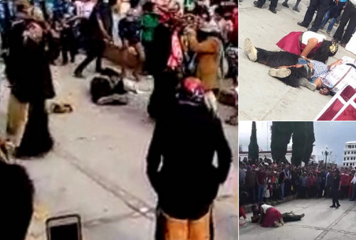México: en pleno festejo de la Virgen de la Asunción matan a tiros a hombre que danzaba