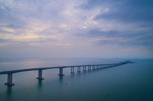 China inauguró el puente marítimo más largo del mundo [VIDEO]