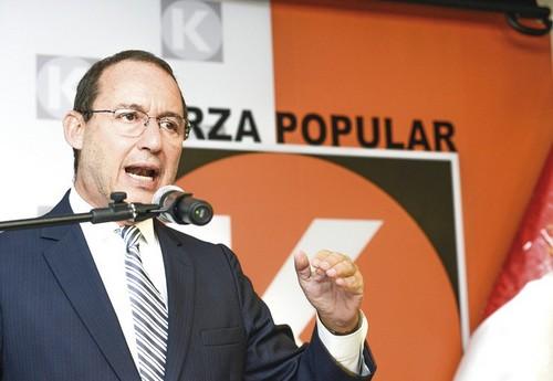 José Chlimper renunció al cargo de secretario general de Fuerza Popular
