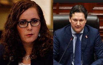 En tensa discusión en la sesión del Pleno, Daniel Salaverry le dice a Rosa Bartra que 'puede gritar toda la mañana si es lo que quiere'