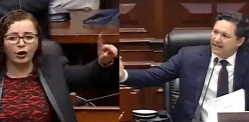 Daniel Salaverry y Rosa Bartra dieron por superado el acalorado intercambio de la sesión del Pleno del Congreso
