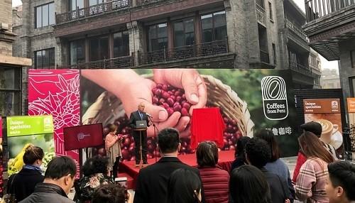 Marca 'Cafés del Perú' fue lanzada exitosamente en Asia