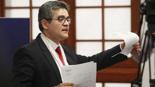 Fiscal José Domingo Pérez se encuentra bajo proceso disciplinario
