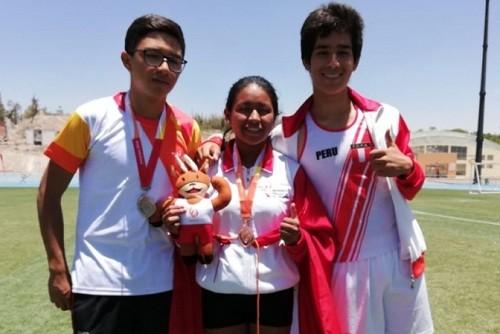Perú logra medallas y nuevos finalistas en atletismo en Arequipa 2018