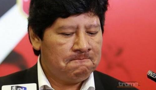 Presidente de Federación Peruana de Fútbol, Edwin Oviedo, se encuentra detenido en Prefectura de Lima