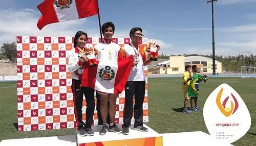 Perú ya suma más de 30 medallas en Juegos Sudamericanos Escolares
