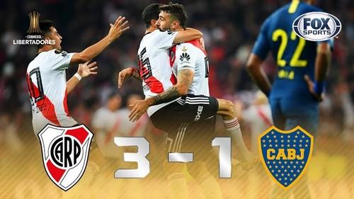 River Plate derrota 3-1 a Boca Juniors y es campeón de la Copa Libertadores 2018