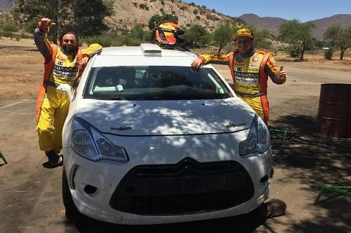 Hart participará en la última fecha del Rally Chile