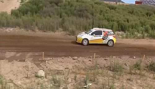 Hart entrenó con miras al Rally Chile