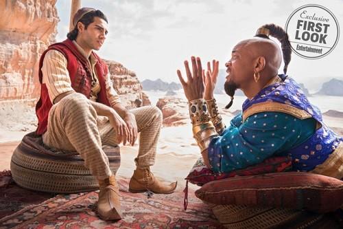 Disney muestra la primera imagen de Aladdin