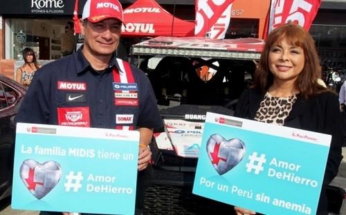 Team de Aníbal Aliaga listo para El Dakar Perú 2019